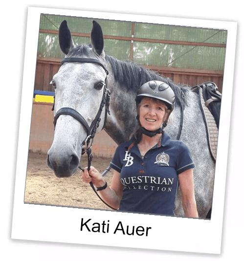 Pferdetrainerin Kati Auer